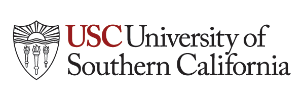 USC primary shield with university name wordmark